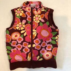 Hanna floral vest